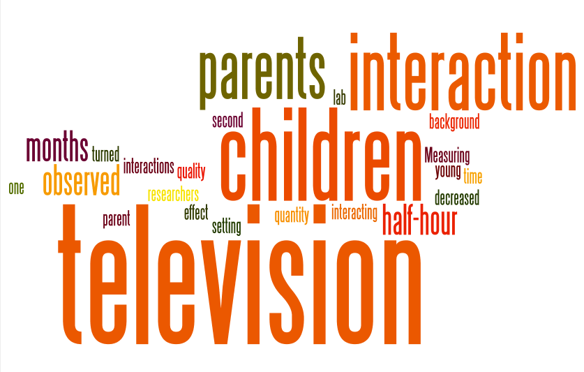 the effects of television The presence of a television in the room where a child sleeps also was  associated with less sleep, particularly in minority children investigators.